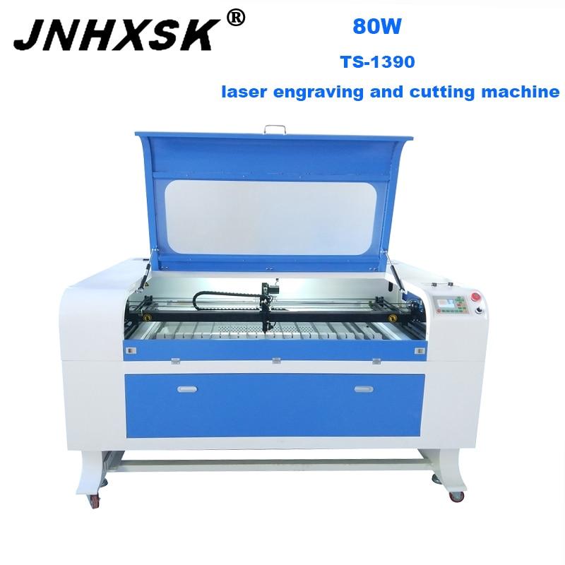 JNHXSK 80W F2 CO2 máquina de corte láser 3d máquina de grabado láser, enrutador CNC, tela, madera contrachapada, Mable, tela, acrílico, papel, vidrio