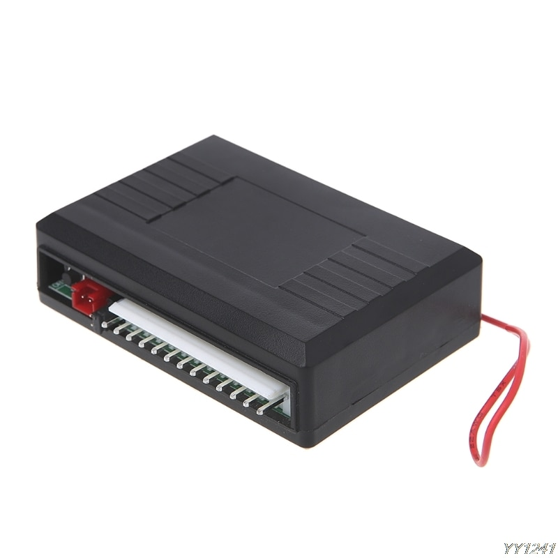 Купить с кэшбэком Universal Car Alarm Systems 12V Auto Remote Central Kit Door Lock Locking Vehicle Keyless Entry System With Remote Controllers