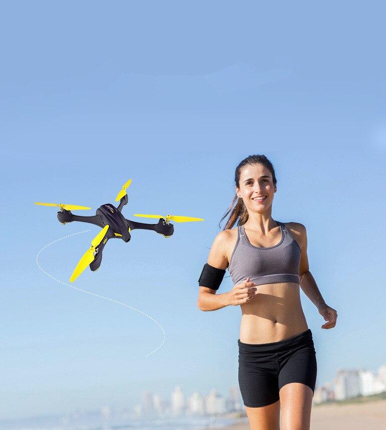 Último cuadricóptero Aéreo profesional H507A mini 720P HD Cámara GPS punto de paso Sígueme WIFI FPV en tiempo real UAV Selfie drone
