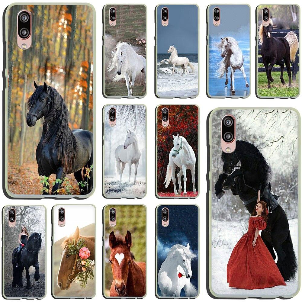 Funda de teléfono rígida Frederik el gran bonito caballo para Huawei P30 P10 Plus P20 Lite Mini 2016 2017 Pro P smart 2019