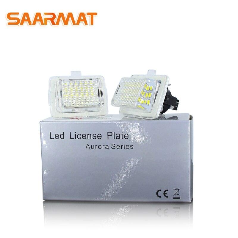 Bombilla LED CanBus para mercedes-benz, W204, W204, 5D, W212, W216, W221, sin...