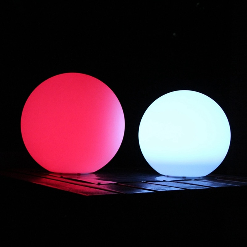 Skybesstech D15cm 5.9inch 16 Colour RGB Night Light Hanging Sphere Round Ball with 24 Keys IR Remote Control free shipping 4pcs enlarge