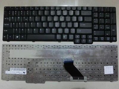 SSEA nuevo ordenador portátil teclado US para Acer Aspire 5235 5335 5335Z...
