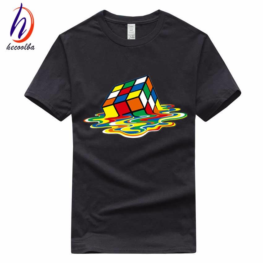 Европейский размер, 100% хлопок, 2017 Мужская футболка с кубиками, модная одежда унисекс, футболка большого взрыва, футболка, Homme Ali