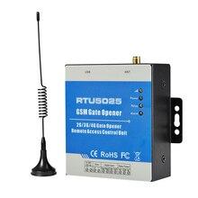 Ouvre-porte de porte 3G   Interrupteur à distance éteint par téléphone pour accès aux portes systèmes de stationnement de voiture support carte SIM 3V RTU5025