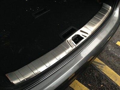 Stainless Inner Rear Bumper Guard Plate Trim 1pcs for Nissan Qashqai 2014 - 2016