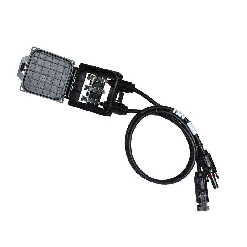 BULSUNSOLAR50 قطعة IP67 عالية الجودة 3 القضبان 2 ديود الشمسية PV تقاطع صناديق لوحة طاقة شمسية FS0154