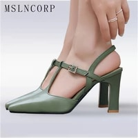 plus size 34 46 sexy summer high heels women sandals pointed toe footwear fashion t strap ladies party bride wedding pumps shoes