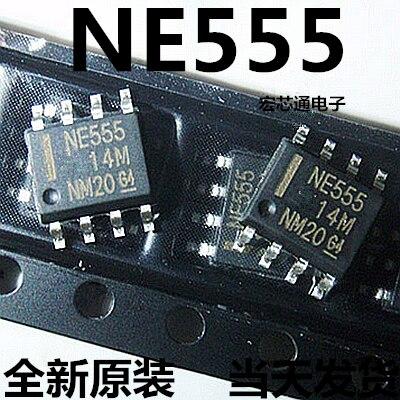 100pcs/lot NE555 NE555D 555 555 NE SOP-8 In Stock