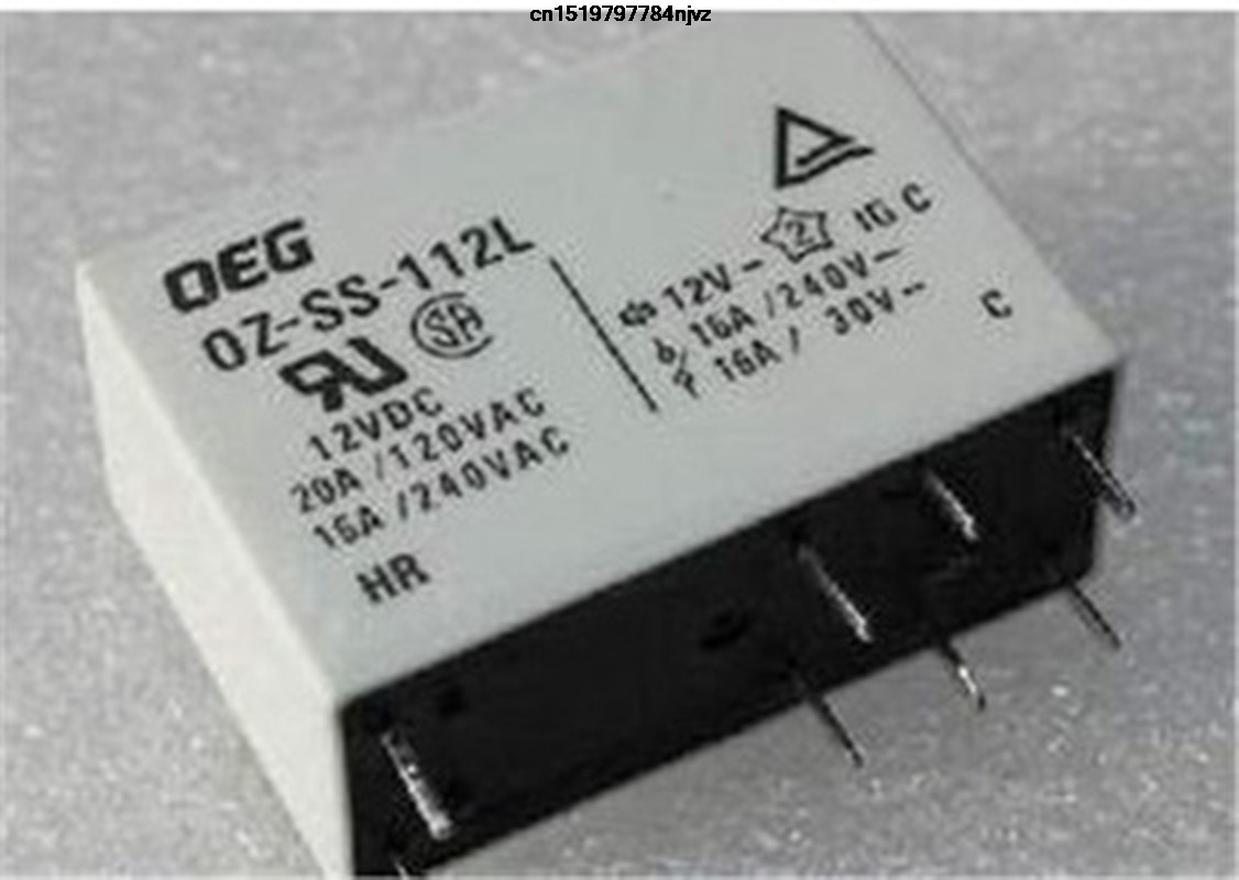 power relay OZ-SS-112L1 OZ SS 112L 12VDC 12V 16A 8PIN 10PCS