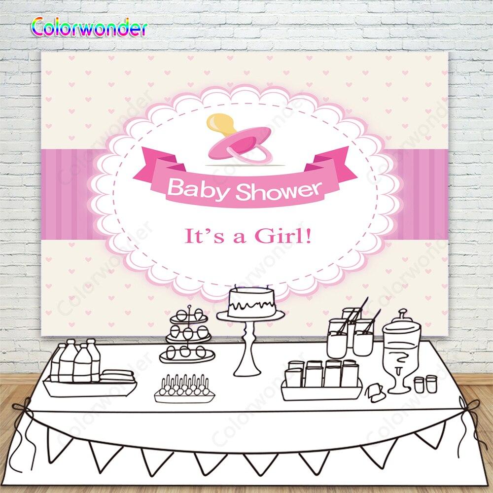 Fondo de fiesta de cumpleaños para niña con marco de Laciness para fiesta de cumpleaños