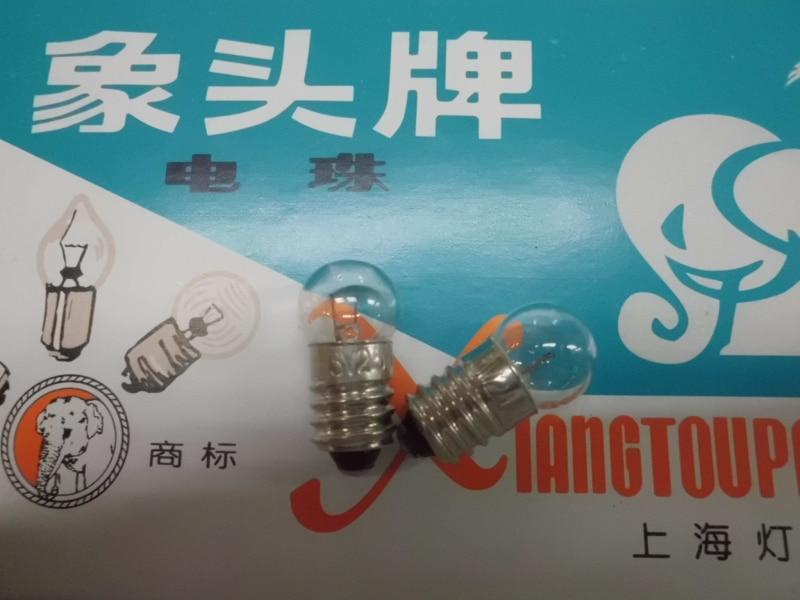Xiangyang 6.3V2.5W в качестве верхнего инструмента инструмент лампа винт для лампочки E10
