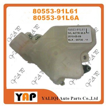 Actuador de cerradura de puerta automática para FITNISSAN PICKUP TURCK PLADIN D22 D23 delantero/trasero LH dos pernos gruesos 80553-91L61 80553-91L6A 2002-2014