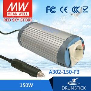 MEAN WELL A302-150-F3 150 Вт 24 В до 220 В модифицированный волновой автомобильный инвертор Meanwell