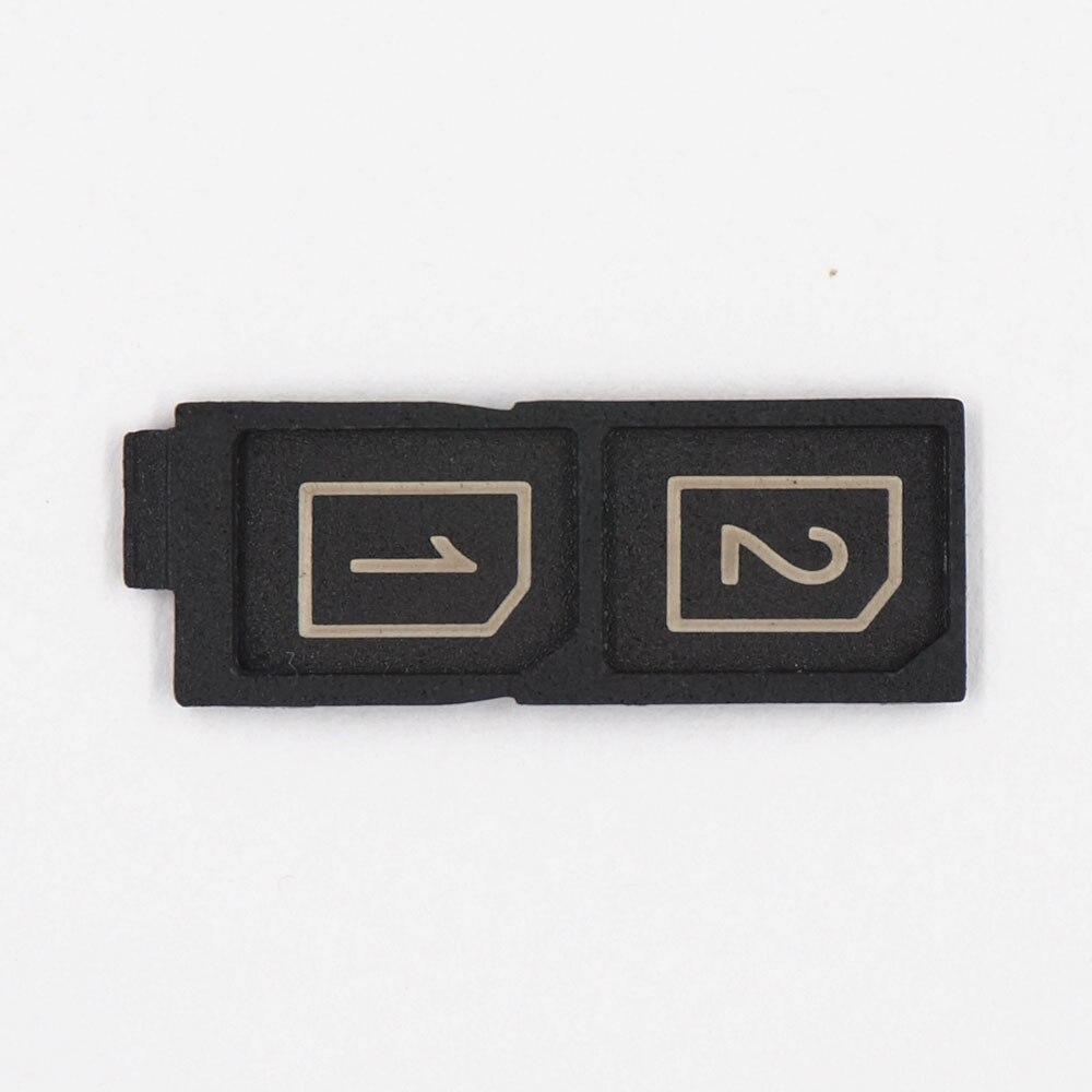 Soporte Doble Adaptador para ranura de bandeja de Soporte de tarjeta Nano SIM para Sony Xperia Z5 Dual Sim E6633 Z5 premium E6833 E6883