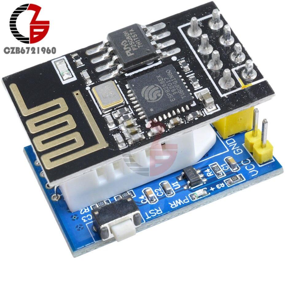 Wifi esp8266 ESP-01S dht11 dht22 am2302 módulo sensor de umidade temperatura digital substituir sht11 sht15 para termostato humidistat