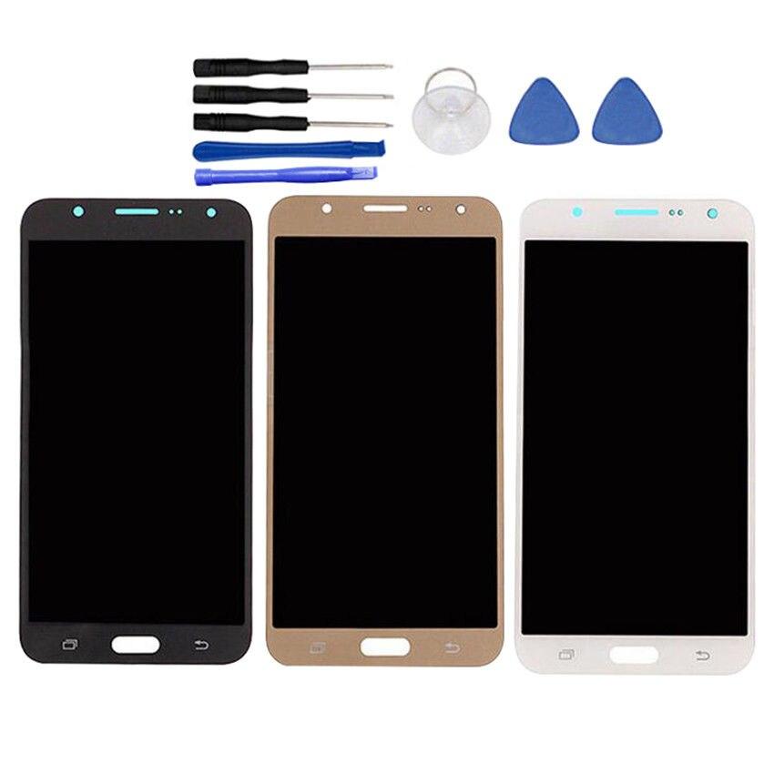 AMOLED Para Samsung Galaxy J7 2016 J710 J710F J710FN J710M J710Y LCD Display AMOLED Tela Lcd de Toque Assembléia Digitador Replacem