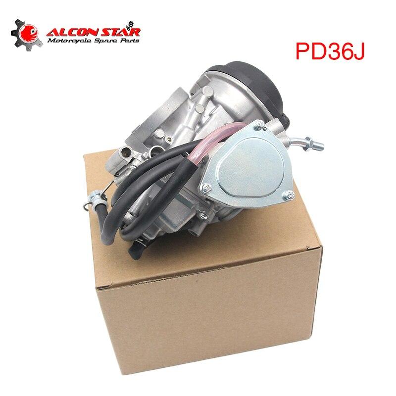 Alconstar دراجة نارية 36 مللي متر المكربن PD36J 350cc 450cc 500cc سكوتر المحرك لسوزوكي LTZ 400 Quadsport ATV رباعية UTV