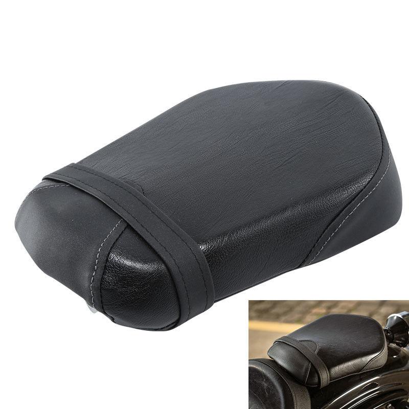 Negro sillín trasero para pasajero asiento para Yamaha perno XV950 XV 950 R-Spec 2014-2017 2016 15