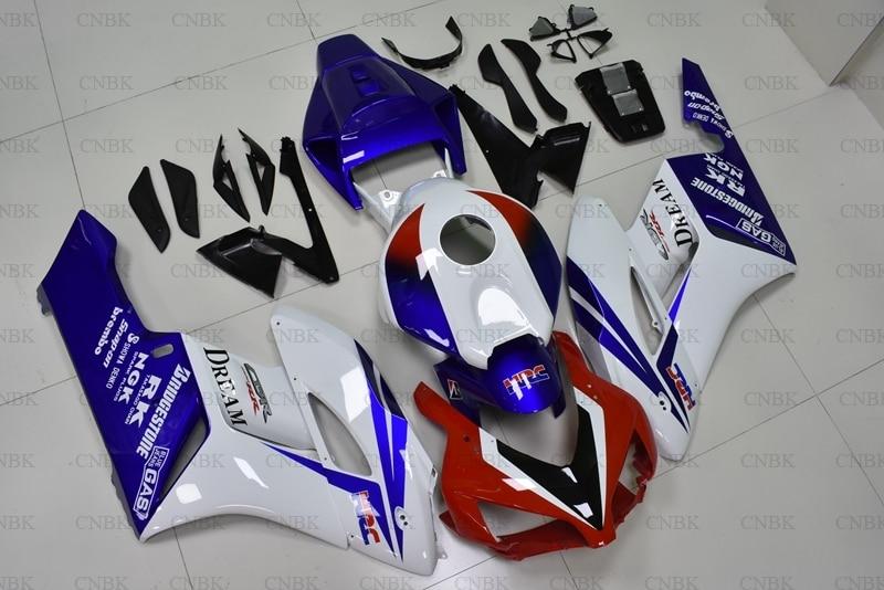Para Honda Cbr1000 RR 2004 - 2005 carenado de motocicleta CBR1000RR 2004 carenado rojo blanco azul CBR 1000 RR 05 Kits de cuerpo completo