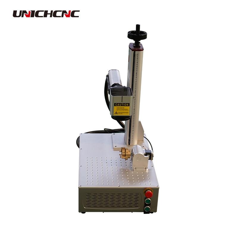 Máquina de corte y marcado láser de fibra de alta tecnología/Máquina de marcado láser de fibra 100w