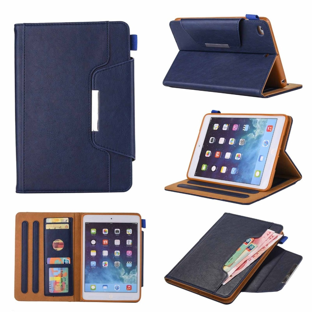 Sono automático wake flip folio magnético caso para ipad mini 1/2/3/4 7.9 tablet casos alta quatity inteligente capa para ipad mini 4 3 2 1