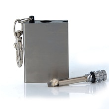 Thousands of times Flint Fire Starter Permanent Match Striker Portable Bottle Shaped Survival Tool Lighter Kit for Outdoor