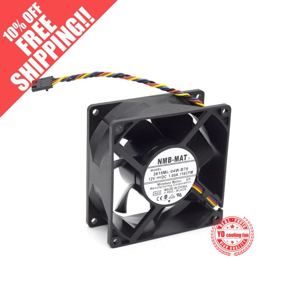 Nuevo ventilador de refrigeración NMB-MAT Minebea 3615ML-04W-B76DC 9238 12V