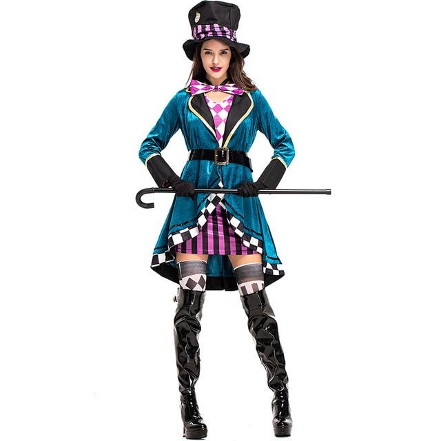 Disfraz mujer envío adultos Alicia en el país de las Maravillas fantasía...