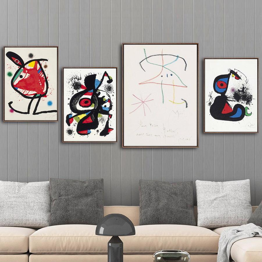 Cuadros en lienzo para decoración del hogar, pinturas de arte de pared impresas en español, estilo nórdico, cartel Modular sencillo para sala de estar