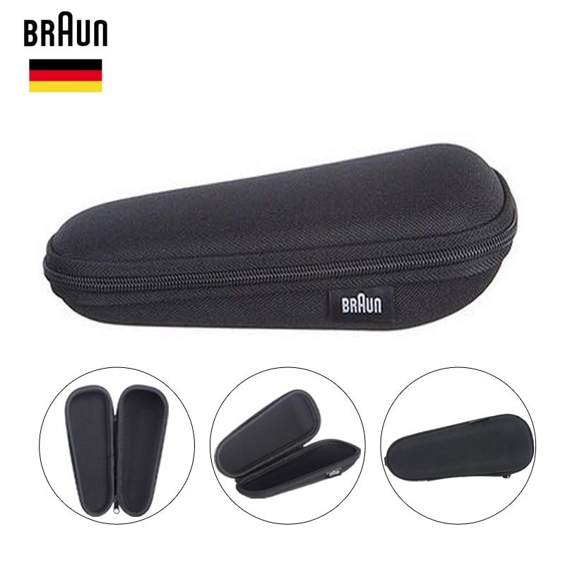 Caja de afeitar Braunn 1 Uds caja de viaje caja de almacenamiento portátil para la serie 3/5/7 3000s 3020s 3050cc 5030s Ct4s