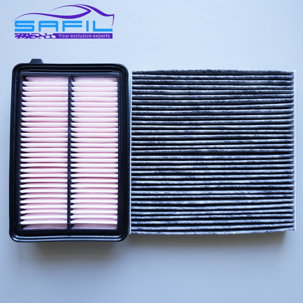 Салонный фильтр + воздушный для 2012 Honda CRV 2.0L. 2013 acrv 2.0 oem: 17220 R6A J00 80292 SDG W01|air cabin filter|crv