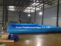 family inflatable above ground swimming pool kid adult children blue 6x8x0 6m