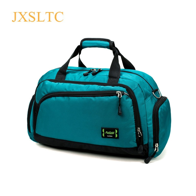Hot Waterproof Nylon Travel Handbag Men Fashion Carry On Weekend Bags Vintage casual Duffel Shoulder Bags women Overnight Bag