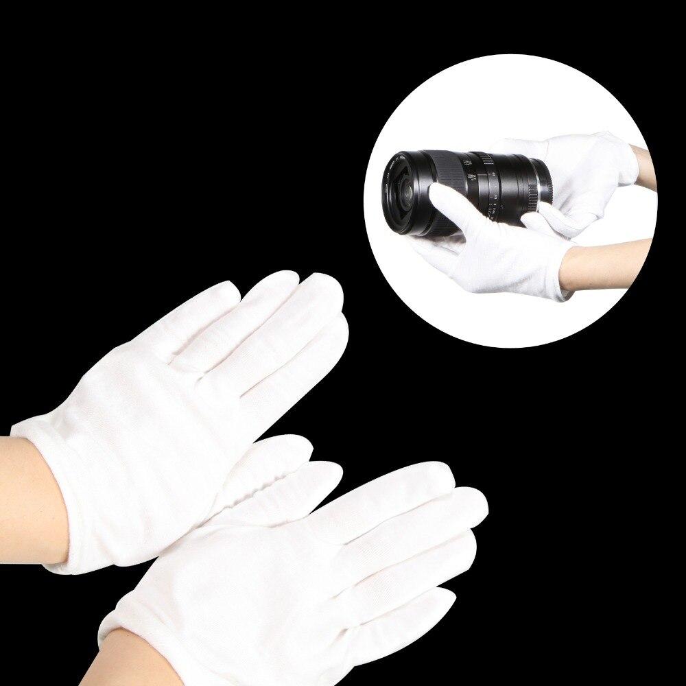 Белые перчатки Meking для студийной фотосъемки, аксессуары с защитой от отпечатков пальцев