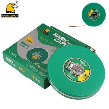 Tape Measure Linen Measuring Ruler 10/15/20/30/50M Retractable Measuring Tape Flexible Metric Gauge Ruler Measuring Tools