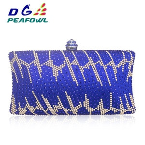 Vintage Femme Crystal Stone Hasp PVC Handbag Evening Clutch Bag Travel Phone Toiletry Pocket Wedding Favor Diamonds Bag
