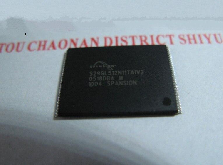 S29GL512N11TAIV2 GL512N10FFA02 100% original nuevo stock genuino de memoria FLASH envío gratis Emax 5 unids/lote
