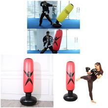 High 1.6M Inflatable Bodybuilding Boxing Column Tumbler Sandbag Earthbag Funny Decompress Toy DOG88