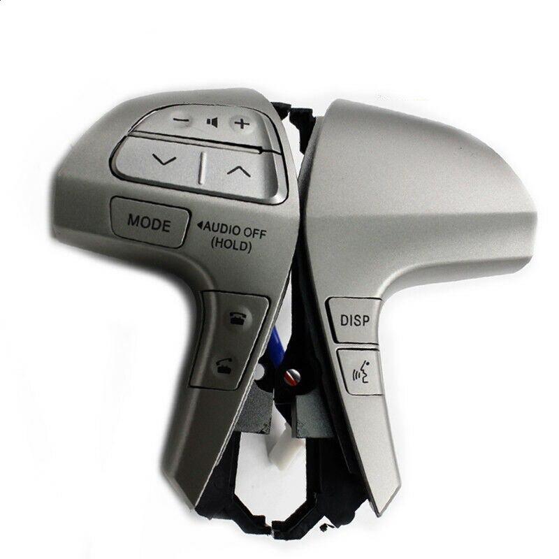 Bluetooth Steering Wheel Audio Control Button Switch For Toyota Camry Corolla Hilux Vigo Highlander Innova 2011-2013 84250-06160