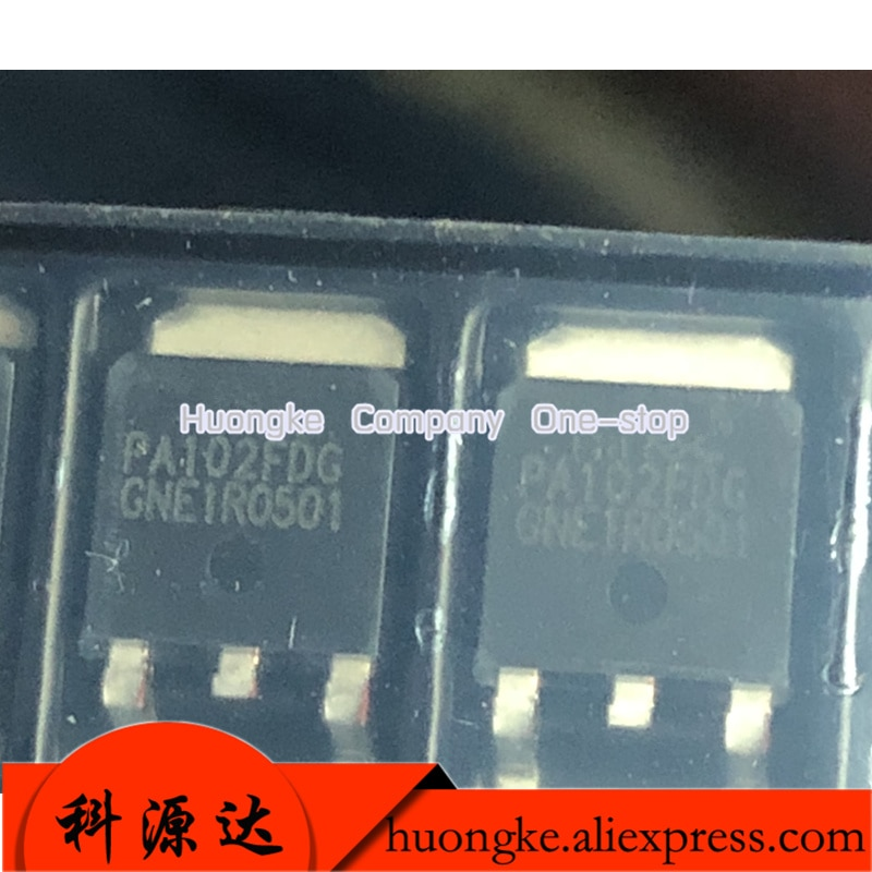 10 unids/lote PA102FDG PA102F PA102FD PA102 TO-252 p-channel mejora de nivel lógico