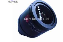 Lentille de vidéosurveillance/lentille Vari focale manuelle   2.8-12mm/3 mp M12, objectifs/monture de panneau F1.4 1/2.5, format
