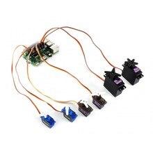 Waveshare servomoteur chapeau 16 canaux Interface I2C 12 bits compatible avec Raspberry Pi zéro/zéro W/zéro WH/2B/3B/3B +