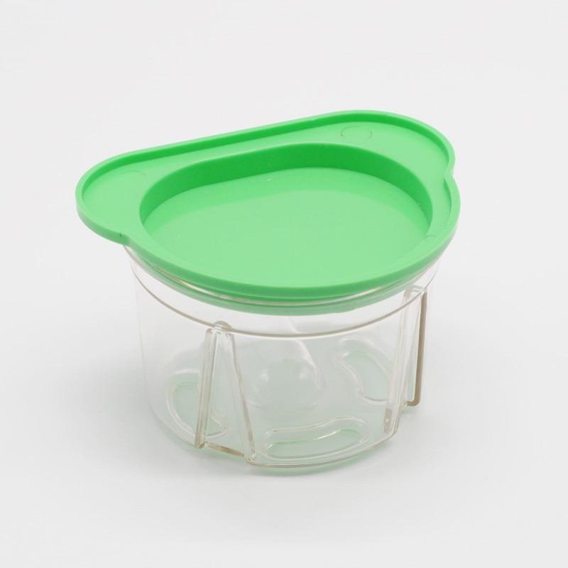 Caja de plástico modelo copia frasco Dental caja de duplicación dentadura trabajo parcial para clínica de odontología