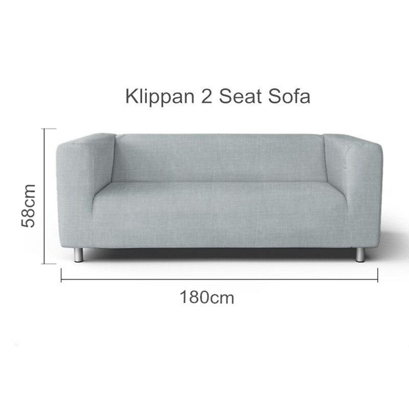 أريكة غطاء استبدال Klippan 2 مقعد وفيسيت أريكة غطاء ل Klippan 2 مقاعد الغلاف