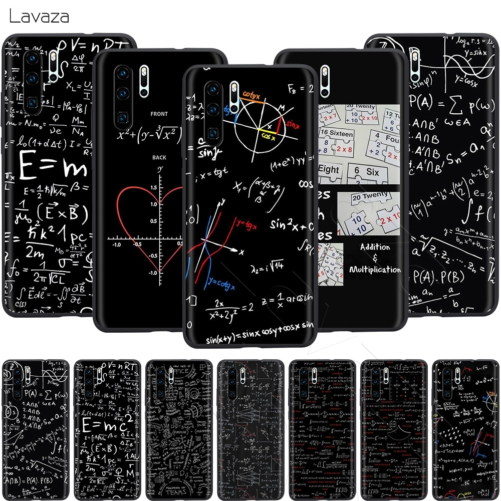 Лаваза формулы Math Formul Математика чехол для Huawei Mate Y7 Y9 P8 P9 P10 P20 P30 P40 Max Lite Pro P Smart Mini