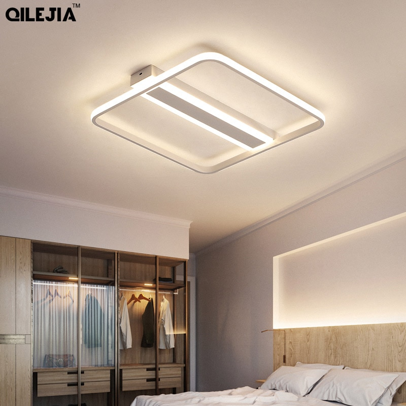 Acrylic Ceiling Lights Modern led ceiling lamp for living room bedroom AC85-265V fixture Indoor lighting Lamp Fixtures macarons ceiling lamps rose colors metal lamp body acrylic lamp shade colorful post modern ceiling light led lighting fixture