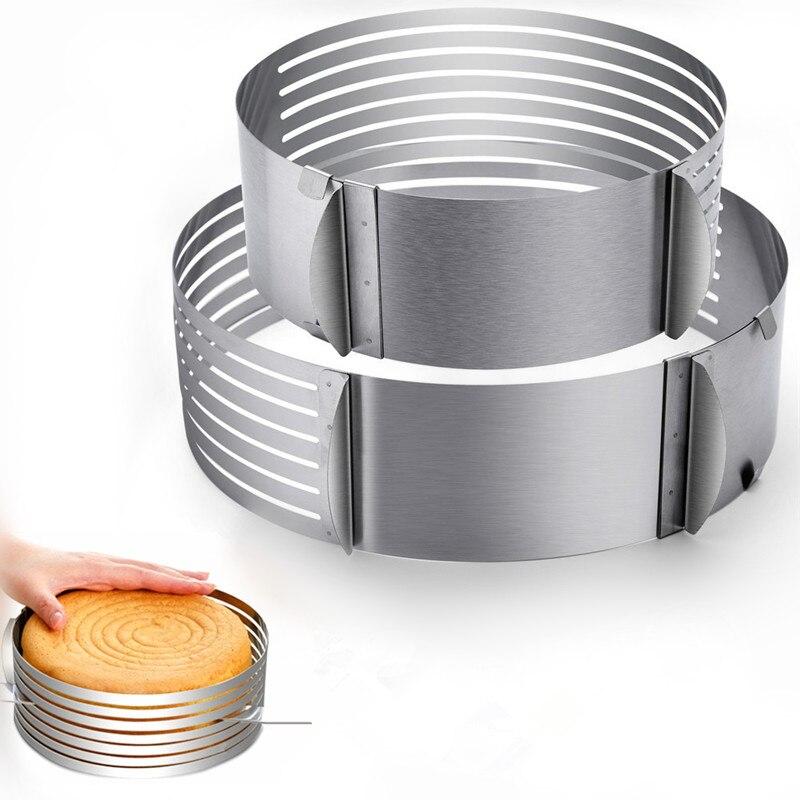 Регулируемый резак для торта, Ломтерезка из нержавеющей стали, Ломтерезка для хлеба, резак для торта, DIY Инструменты для украшения торта, Аксессуары для выпечки