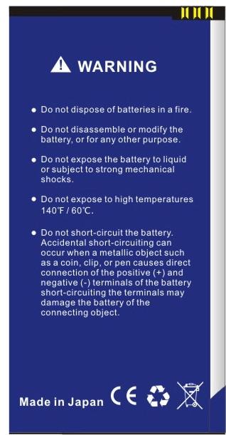 Da Da Xiong 2500mAh BL7303 Battery for FLY TS107 battery enlarge