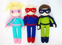 crochet toys  amigurumi  superhero   model    number  SQ003